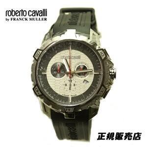 ロベルトカヴァリ バイ フランクミュラー クロノグラフ 腕時計 RV1G084P0011|yosii-bungu