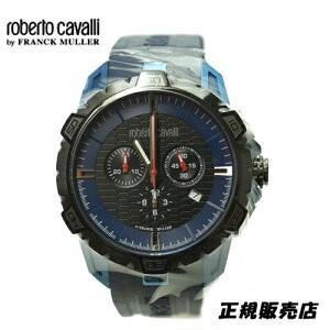 ロベルトカヴァリ バイ フランクミュラー クロノグラフ 腕時計 RV1G084P0041|yosii-bungu