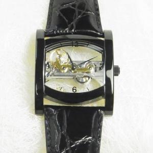 アルカフトゥーラ 腕時計  手巻き  ブラック S13385BBK|yosii-bungu
