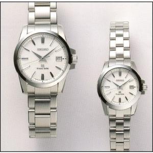 セイコー 腕時計 GS グランドセイコー ペア・ウオッチ SBGX053-STGF053|yosii-bungu