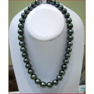 (今ならポイント最大41倍!)黒真珠 ネックレス 30年目の真珠婚企画 |yosii-bungu