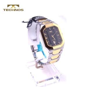 テクノス 腕時計 (TECHNOS) 3気圧防水 T9353GB メンズ yosii-bungu