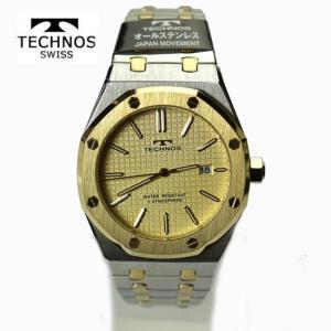 テクノス(TECHNOS) 腕時計 5気圧防水 T9539TC    最新定番モデル|yosii-bungu