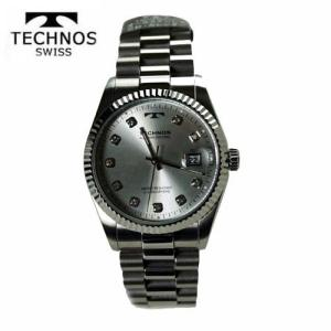テクノス(TECHNOS) 腕時計 5気圧防水 T9604SS|yosii-bungu