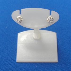 [厳選激安] プラチナ ダイヤモンドピアス トータル0.5ct 絶対のお買い得品!!(ISO9001厳正な検品基準品)|yosii-bungu