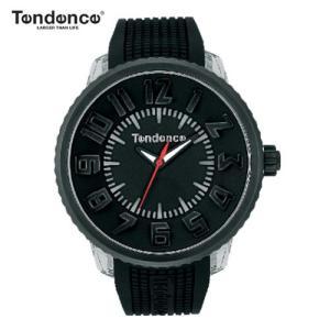 テンデンス フラッシュ LED搭載 ブラック(TENDENCE FLASH )   メンズ/レディー 兼用腕時計 腕時計 TG530001 【正規登録店】|yosii-bungu
