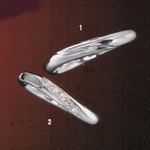 ラザール ダイヤモンド 結婚指輪・マリッジリング (プラチナ) URA804  写真1|yosii-bungu