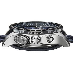EPSON  エプソン TRUME トゥルーム TR-MB5007  紺色 レザーバンド  ソーラー 腕時計 (メンズ)  (2年間保証)|yosii-bungu|03