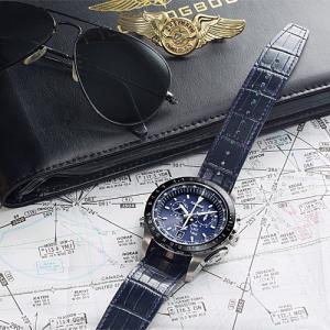 EPSON  エプソン TRUME トゥルーム TR-MB5007  紺色 レザーバンド  ソーラー 腕時計 (メンズ)  (2年間保証)|yosii-bungu|07