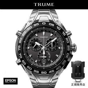 エプソン TRUME TR-MB8003 チタン・メタルバンド エクスパンデッドセンサー付 GPS衛星電波時計 Lコレクション|yosii-bungu