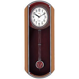 (今ならポイント最大41倍!)RHYTHM(リズム) ヴィバーン  こだわりの高級掛け時計 V-M11B 4MN408JB06 |yosii-bungu