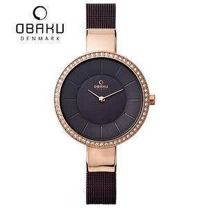 オバク 腕時計  OBAKU  V179LEVNMN