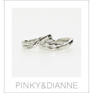 (今ならポイント最大37倍!)【ペア】PINKY & DIANNE LOVERS ピンキー&ダイアン ラヴァーズ ペアリング ダイヤモンド シルバー SV(ロジウムメッキ)|yosii-bungu