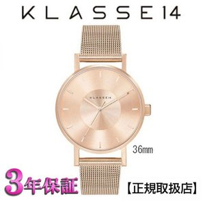 (今ならポイント最大37倍!)[クラス14]KLASSE14 腕時計 VO14RG003W VOLARE ROSE-GOLD/MESH 36mm   【正規輸入品】 yosii-bungu