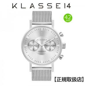 KLASSE14 腕時計  VO15CH002M  VOLARE CHRONOGRAPH DARK 42mm 【正規輸入品】|yosii-bungu