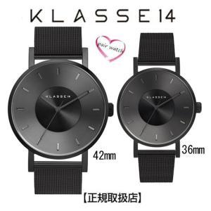 [クラス14]KLASSE14 ペア 腕時計  42mm 36mm  VOLARE DARK MET...