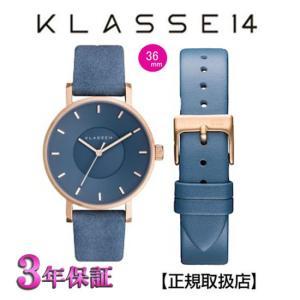 クラス14   KLASSE14 腕時計 VO17MV003W ブルー   MISS VOLARE 36mm POWDER DIAL & STRAP 【正規輸入品】|yosii-bungu