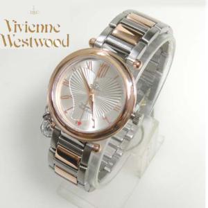 Vivienne Westwood (ヴィヴィアンウエストウッド) 腕時計 VV006RSSL ORB シルバー/ゴールド 時計 レディース ヴィヴィアン  (送料無料)|yosii-bungu