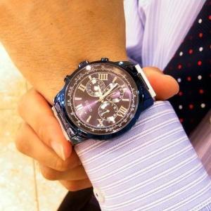 (今ならポイント最大37倍!)ゲス GUESS 腕時計 DELANCY W0871G1 [正規品] メンズ  45mmサイズ|yosii-bungu|05