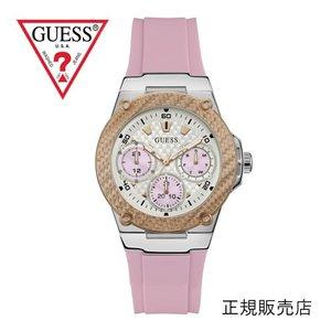 ゲス GUESS 腕時計  ジェットセッター JET SETTER W1094L4 ピンク[正規品] レディース  39mmサイズ yosii-bungu