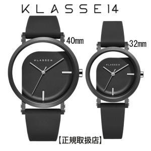 クラス14   腕時計 IMPERFECT ANGLE Black ペアウォッチ 40mm  32mm ブラックダイヤル (一部透過) WIM19BK011M  WIM19BK011W|yosii-bungu