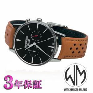 ウォッチメーカーミラノ   バウーシャクロノクロノグラフ WM.0BC.01 メンズ [正規輸入品]|yosii-bungu