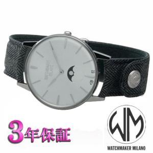 ウォッチメーカーミラノ  アンブロジオ  シルバー文字板 WM.AFL.03 メンズ [正規輸入品]|yosii-bungu