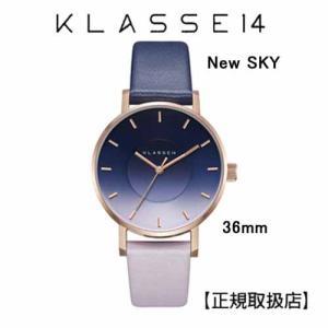 クラス14 New SKY ニュー スカイ 腕時計 36MM WSK19RG007W  36mm 本革 ユニセックス [正規輸入品] (Unisex)|yosii-bungu