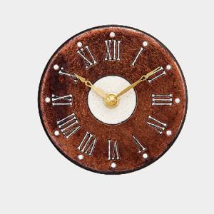 アントニオ ザッカレラ 置き・掛け時計  ITALY  ZC184-A01  直径13cm  yosii-bungu