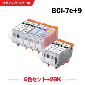 Canon BCI-7eC シアン 単品 インクカートリッジ 互換インク|yosimonoya