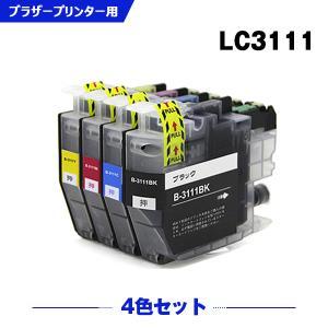 ブラザー インク LC3111 4色セット LC3111-4PK DCP-J978N DCP-J577N DCP-J973N DCP-J972N DCP-J572N MFC-J898N MFC-J893N 互換インク|yosimonoya