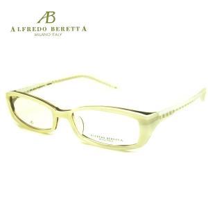 アルフレッドベレッタ メガネフレーム ALFREDO BERETTA AB8028 COL-WH SIZE-52|yosimura