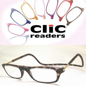 CLIC READERS クリックリーダー ブラウン