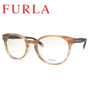 フルラ メガネフレーム FURLA VFU175J COL-0K61 SIZE-50|yosimura