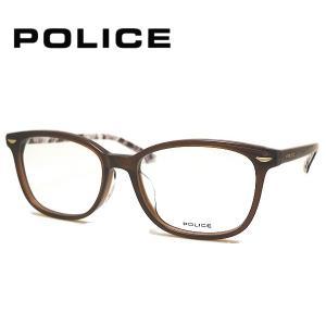ポリス メガネフレーム POLICE VPL664J COL-02BR SIZE-51|yosimura