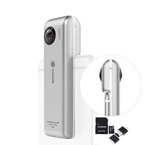 レンズ:デュアル210°魚眼レンズ CMOSセンサー:ソニー8MP CMOS ビデオ解像度:3040...