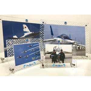 ブルーインパルス アクリルフォトスタンド(大)【受注生産品・7営業日後出荷】|yottekero