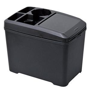 セイワ(SEIWA) 車用 ゴミ箱 ダストボックス L ドリンク おもり付き ブラック W734 you-mart-smile