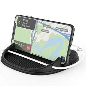 Solpuo車載スマホホルダー片手操作取り付け簡単車載スマホホルダー全機種対応 iPhone/Samsung/Sony/LG/Huawei|you-mart-smile