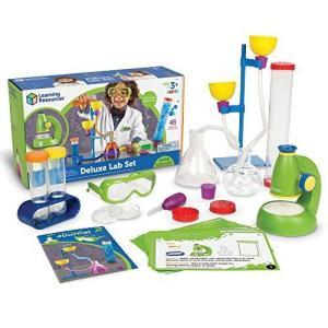 ラーニング リソーシズ(Learning Resources) 学習玩具 初めての実験セット デラックス LER0826 正規品|you-mart-smile