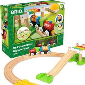 BRIO ( ブリオ ) レールウェイ マイファースト ビギナーセット [全18ピース] 対象年齢 1歳半~ ( 電車 おもちゃ 木製 レー|you-mart-smile