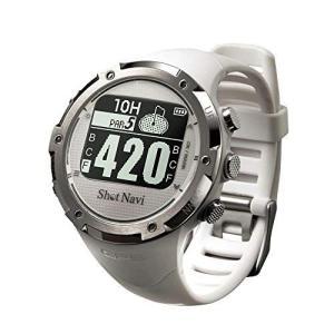 ショットナビ ゴルフウォッチ GPSナビ ゴルフナビ 腕時計型 ホワイト W1-GL|you-mart-smile