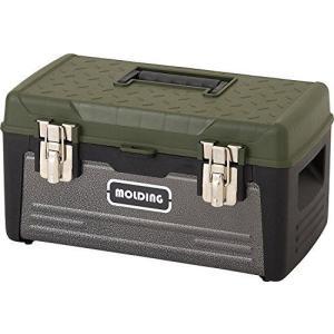 モールディング トランクツールボックス [ カーキ/Mサイズ ] molding TRUNK BOX M 12L 収納ボックス 道具箱|you-mart-smile