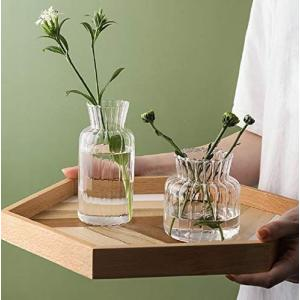 花瓶花器 ガラス 北欧 高級感 フラワーベース - ガラスベース ガラスボトル +3つセット 小 おしゃれアレンジ インテリア 水栽培 生け|you-mart-smile