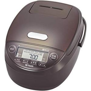 タイガー魔法瓶(TIGER) 炊飯器 5.5合 圧力IH 土鍋コーティング 炊きたて ブラウン JPK-B100T|you-mart-smile