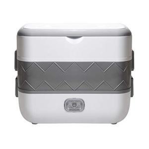 Aseech 電気弁当箱 電気ランチボックス ご飯が炊ける 大容量 炊飯器弁当箱  携帯便利 耐久性・実用性・安全性 多機能 昼ご飯 サラリ|you-mart-smile