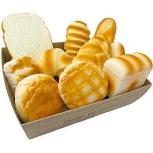 (SHOP SHIMATARO) ジャンボスクイーズ 大きいパンセット バラエティー 10個セット ふわハニー インテリア ビッグスクイーズ you-mart-smile