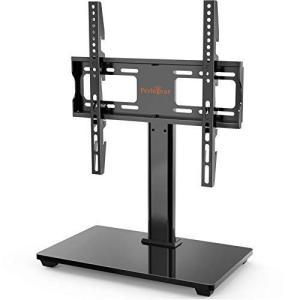 Pelegear テレビスタンド テレビ台 机上 小型 壁寄せ 32-55インチ対応 耐荷重40kg 左右回転35度 VESA規格400x4|you-mart-smile