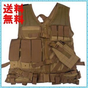 タクティカルベスト ミリタリーベスト SWAT タン NcStar  Tan CTVL2916T ラージサイズ (XXL-5XL) you-new