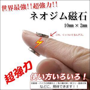 ネオジム磁石 20mmx3mm(大)3個セット・10mmx2mm(小)6個セット 使い方色々!強力!世界最強!ポイント消化|you-new|06